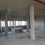 SF-Bau-Stellung Zwischenwände-Neubau Betriebs- und Bürogebäude-Kernen-Rommelshausen-Schlüsselfertigbau