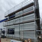SF-Bau-Außenansicht-Erweiterung Gebäude C-Mannheim-Schlüsselfertigbau