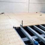 Stahlbau-Holzbelag-Umbau Logistikzentrum-Wiesloch-Stahlbau