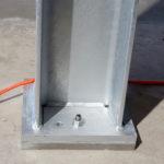 Stahlbau-Stützenbefestigung-Umbau Logistikzentrum-Wiesloch-Stahlbau