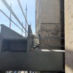 Stahlbau-Bullflexschläuche zum Schutz-Konstruktive Stahlbauarbeiten am Bahnhof-Stuttgart-Stahlbau