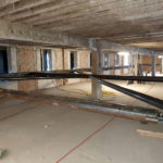 Stahlbau-Aussteifung Geschosse-Konstruktive Stahlbauarbeiten am Bahnhof-Stuttgart-Stahlbau