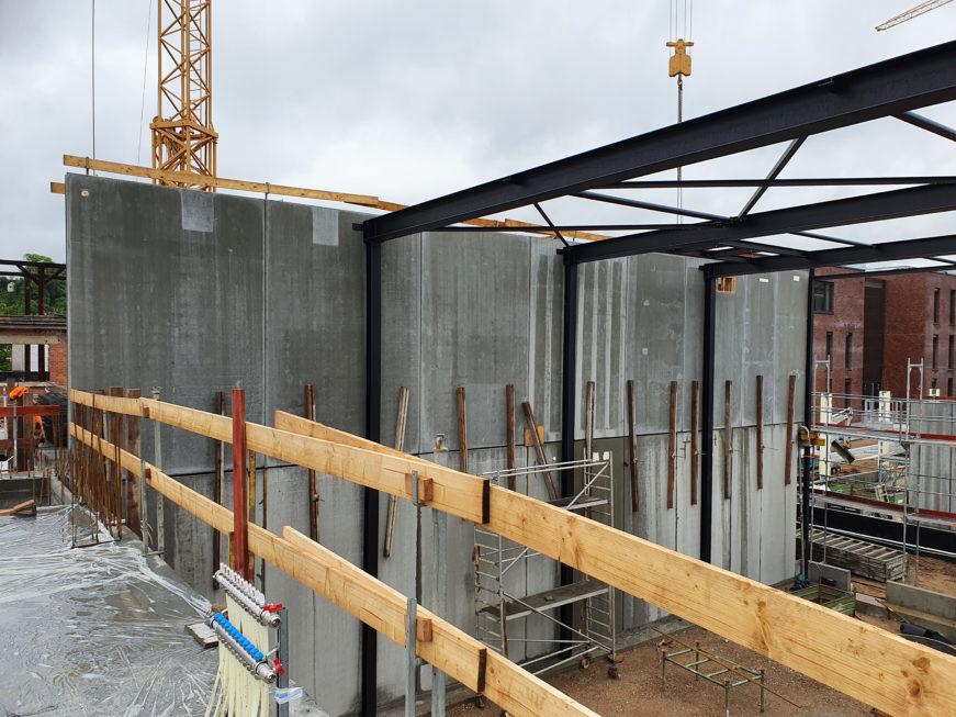 SF-Bau-Wände und Stützen-Neubau Fitness und Werkstatt-Eislingen-Schlüsselfertigbau