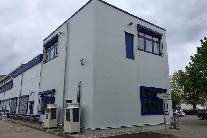 SF-Bau-Außendarstellung-Erweiterung Gebäude C-Mannheim-Schlüsselfertigbau