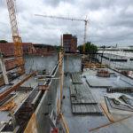 SF-Bau-Wände gestellt und betoniert-Neubau Fitness und Werkstatt-Eislingen-Schlüsselfertigbau