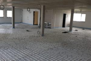 SF-Bau-Verlegung Bodenheizung-Neubau Betriebs- und Bürogebäude-Kernen-Rommelshausen-Schlüsselfertigbau