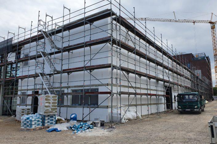 SF-Bau-Dämmarbeiten -Neubau Fitness und Werkstatt-Eislingen-Schlüsselfertigbau