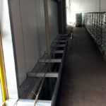 Stahlbau-Tiefkühllager Gang-Umbau Logistikzentrum-Wiesloch-Stahlbau