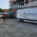 SF-Bau-Fertigstellung Rohbau und Pfostenriegelfassade-Neubau Fitness und Werkstatt-Eislingen-Schlüsselfertigbau