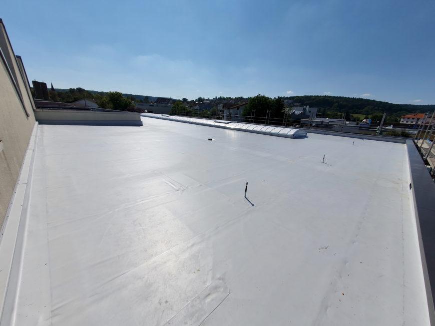SF-Bau-Dachabdichtung-Erweiterung Produktionshalle-Weil der Stadt-Schlüsselfertigbau