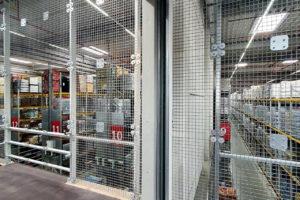 Stahlbau-Rammschutz-Umbau Logistikzentrum-Wiesloch-Stahlbau